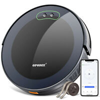 Robotic Vacuum and Mop Cleaner,1800Pa Suction Sweep,Wi-Fi, App