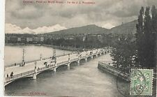 BF16967 pont du mont blanc geneve ile de JJ rousse  switzerland front/back image