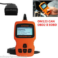 Hand-held OM123 OBDII OBD2 EOBD Car Code Reader Auto Engine Diagnostic Scan Tool