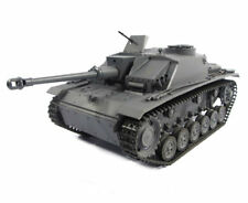 1:16 Mato German Sturmgeschutz Iii Rc Tank 2.4Ghz Infrared 100% Metal Grey