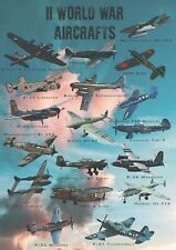 Samoloty II Wojny- dekoracyjny plakat A2 + plakat GRATIS + darmowa wysyłka!