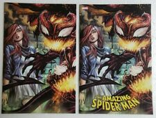 🔥 AMAZING SPIDER-MAN #799 KIRKHAM VARIANT VIRGIN TRADE SET HIGH GRADE
