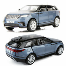 1:32 Velar SUV Off-road Model Car Diecast Gift Toy Blue Pull Back Collection