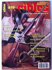 CIBLES n°279 du 06/1993; Bersa Thunder 9 mm/ Saco Defense Inc/ .300 Murmure