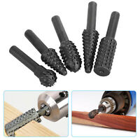 5PCS 1/4'' Drill Bit Set Cutting Tools for Woodworking Knife Wood Carving Tool