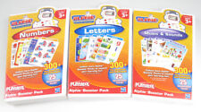 3 Pack PLAYSKOOL ALPHIE BOOSTER PACK LETTER / NUMBER / MUSIC&SOUND w/ Cartridge