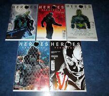 HEROES VENGEANCE #1 2 3 4 5 B set 1st print set RARE TITAN PRELUDE TO REBORN NBC