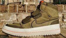 Jordan 1 Retro High Double Strap Olive Canvas ' AQ7924-305 ' Mens Size 11 Shoes