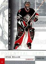 2002-03 UD Mask Collection #165 Ryan Miller