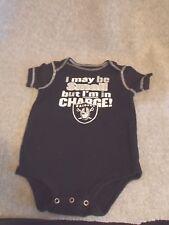NFL Team Apparel Oakland Raiders Infant 18 Months Cotton Bodysuit Onsie 35d9c65a1