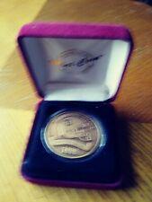 TENNESSEE TITANS HIGHLAND MINT Inaugural season 1999 Coin Medallion 1/5000