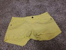 Womens Size 9 Neon Yellow Shorts
