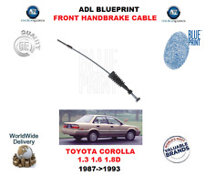 FOR TOYOTA COROLLA 1.3 1.6 1.8D 1987-1993 ADL FRONT HANDBRAKE CABLE 4641012180
