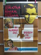 2236       EL HOMBRE DEL BRAZO DE ORO - FRANK SINATRA, KIM NOVA