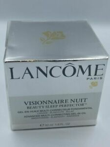 Lancome Visionnaire Nuit Beauty Sleep Perfector Multi-Correcting Oil 1.6ozSealed