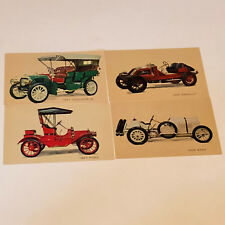 Postcard Mixed Lot Cars Post Card ephemera renault benz locomobile ford classic