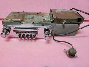 1957 1958 Buick Wonderbar Radio & Foot Switch Roadmaster Limited Super Century