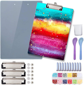 A4 Clipboard Cover Resin Mold,Notebook Cover Mold For Diy Crafts/Folder/Sketch B