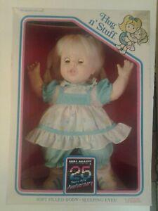 Uneeda Hug n' Stuff Doll Wal-mart 25 Anniversary