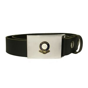 Cardiff City football club leather snap fit belt