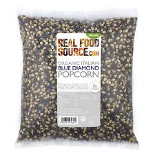 RealFoodSource - Organic Blue Diamond Popcorn Kernels 500g