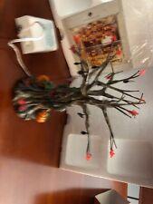 Dept 56 Halloween Village Lit Spooky Tree In Box 52896