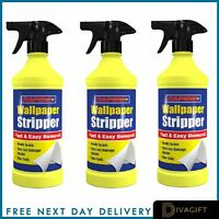 Flask Wallpaper Wall Stripper Remover Fast Acting & Easy To Use Liquid 500ml