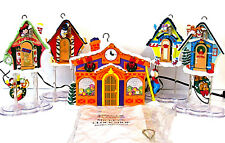 Mr. Christmas Mickey's Clock Shop Disney 1993 Musical Light Up Animated Set