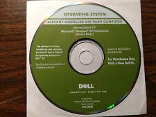 Dell Microsoft Windows XP Pro SP 2 Installation CD + 2 Accessory Disks