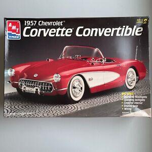 AMT 1957 Chevrolet Corvette Convertible Model 1/16 **Used Open Box**
