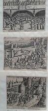 Brussel 1577 Baudart 3 prenten