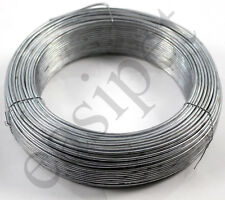 More details for tension straining line wire galvanised steel 100m x 2.5mm chain link fencing