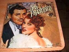 Laserdisc Laser Disc Film : SAN FRANCISCO - Clark Gable - Jeanette MacDonald