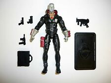 GI JOE DESTRO 25th Anniversary Action Figure COMPLETE 3 3/4 C9+ v14 2007