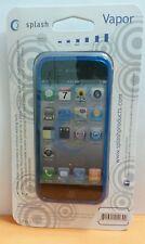Splash VAPOR Slim Fit Flex Case for iPhone 5, Screen Protector Included (BLUE)
