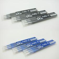30 X Pilot Frixion Lfbkrf30ef 0.5mm Erasable Roller Ball Pen Refills Black