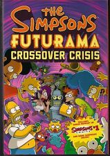 FUTURAMA & THE SIMPSONS CROSSOVER CRISIS DIE-CUT SLIPCASE HARD COVER GN TPB NEW