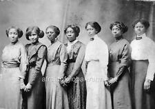 Photo.  1889.  Seven African American Women