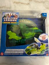 Justice League Mission Vision Green Lantern Motorcycle