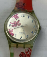 Swatch Ladies Floral Watch