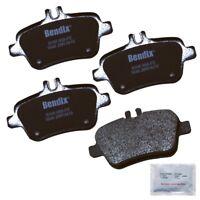 Disc Brake Pad Set-Premium Copper Free Semi-Metallic BPR Disc Brake Pad Rear