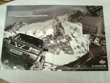 NISSAN PATROL GR 2 X A4 ADVERT POSTER READY TO FRAME B