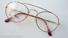 Vistasan Unix Pilotenform außergewöhnlich Professorbrille Metallrahmen size M