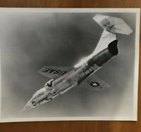 Official USAF Aerial Photo Tactical Air Command's F-104C Starfighter ca. 9/1958