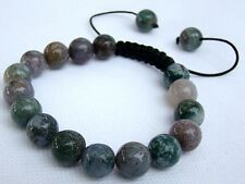 Shamballa bracelet all 10mm  Natural Indian Agate Beads  stone beads