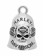 NEW Harley-Davidson® Bar & Shield Logo Winged Skull Motorcycle Ride Bell HRB045