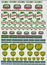 200MM X 280MM CLEAR UNCUT STICKER/DECAL SET REFRESH YOU VEHICLE 1/10-1/5