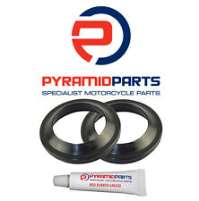 Pyramid Parts Fork Dust Seals for: Gilera Runner ST125 / ST200 2006 on (35mm)