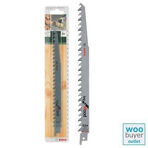 Bosch Sabre saw blade HCS, Reciprocating - S 1542 K (2 Pack)