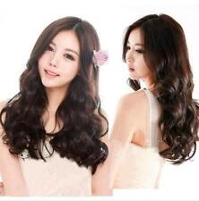 CHSW181 fashion dark brown long wavy health natural hair wigs for women wig